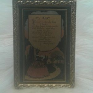 Small framed picture $ 20.00 # 1201